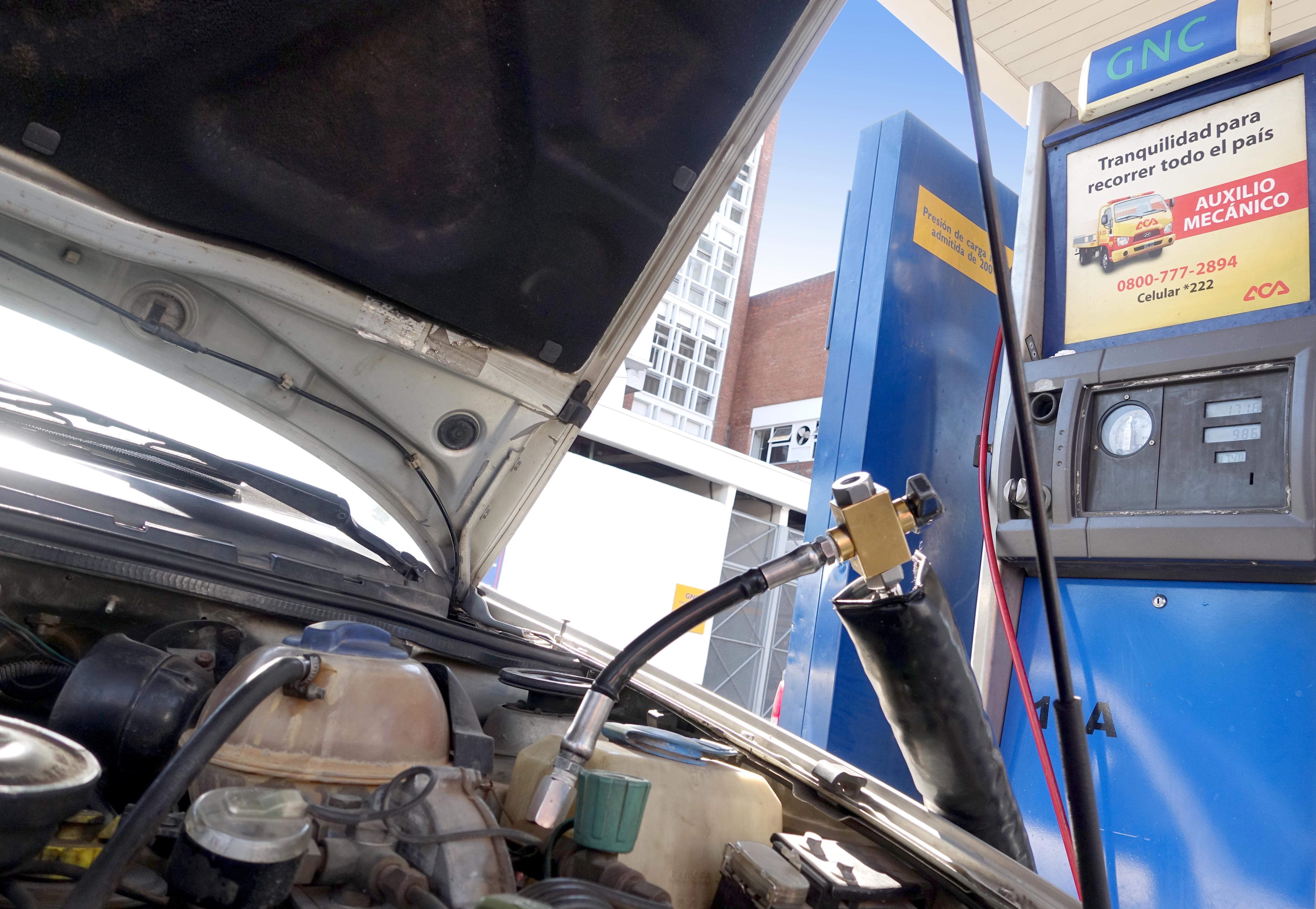 Enargas lanzó una APP sobre gas natural vehicular (GNV)